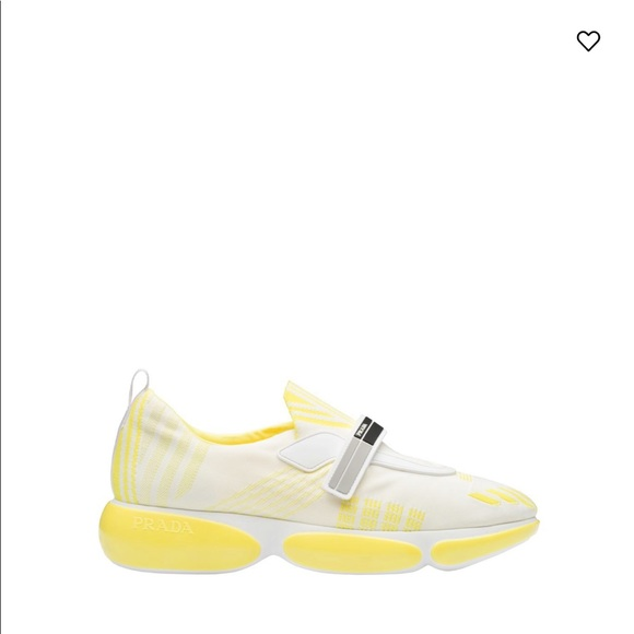 Prada Shoes   Yellow And White Prada
